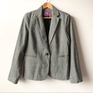 The Savile Row Co. Classic Plaid Blazer Jacket